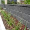 Aussie Block Garden Wall - Charcoal