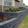 Aussie Block Raised Garden Wall - Charcoal