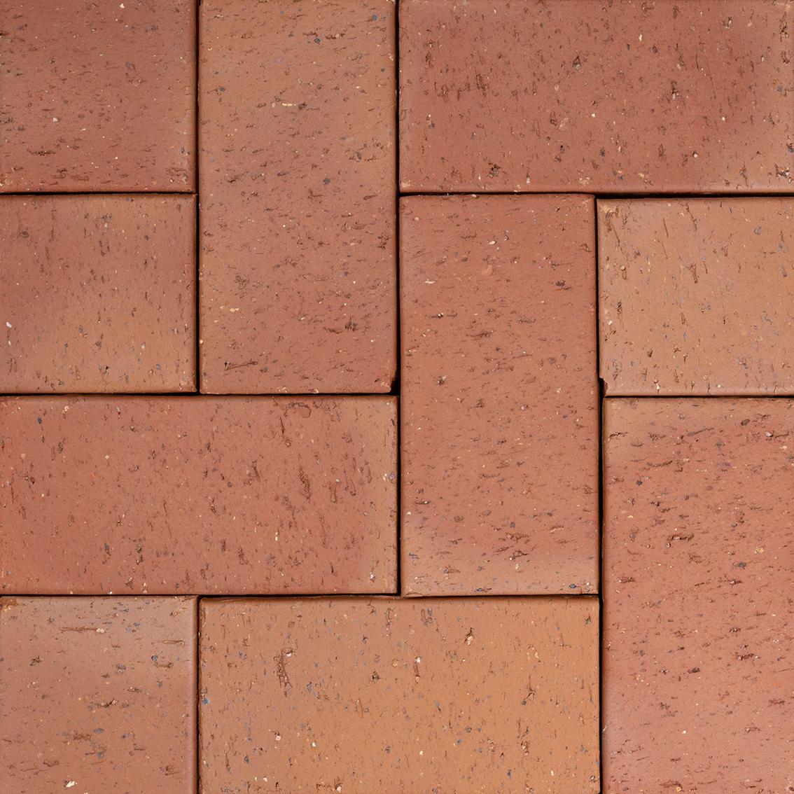 Clay Driveway Pavers | Autumn Sunset | 230 x 114 Pavers