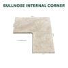 Bullnose Internal Corner