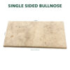 Single Sided Bullnose