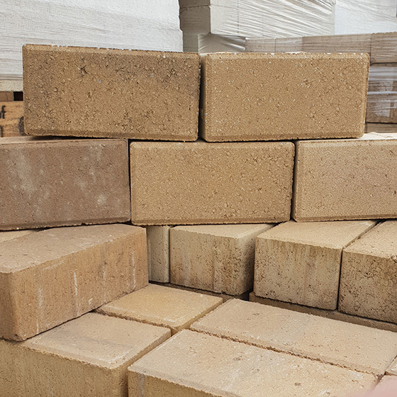 Commercial Brick Pavers - Sandstone
