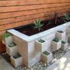 Grey Easy Lock Block Garden Planter