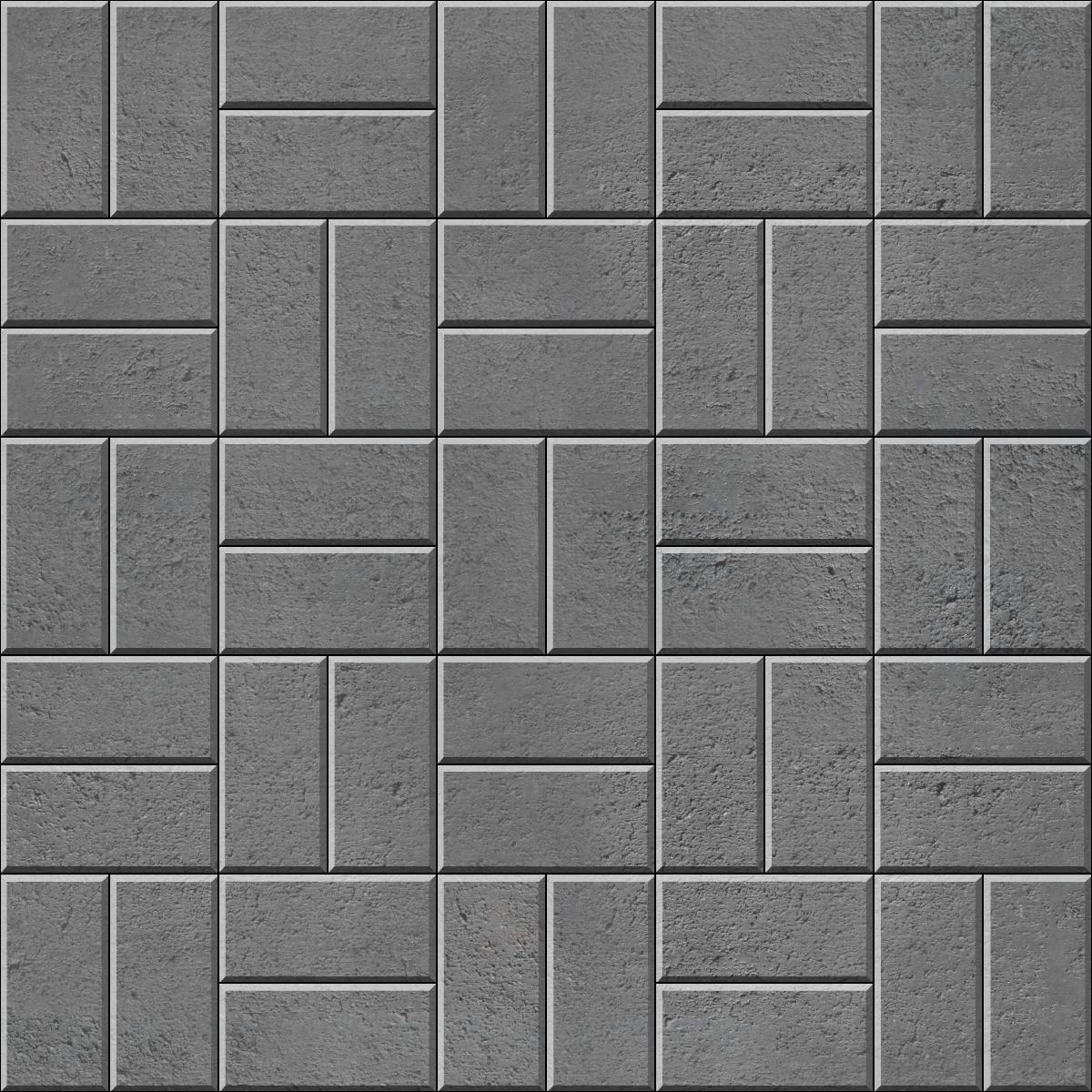 Basketweave brick paver