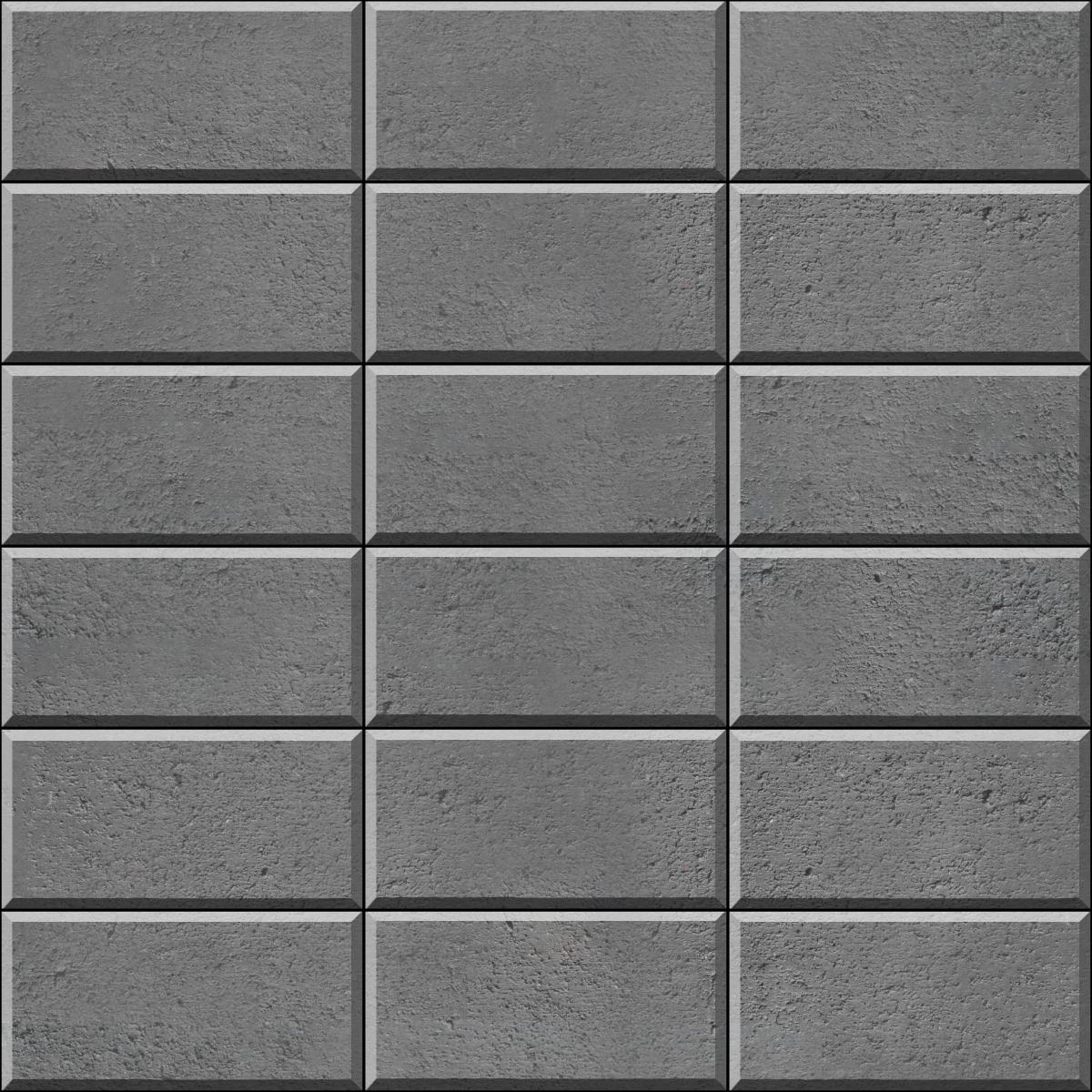 Stack Bond (rectangle) Grey1200