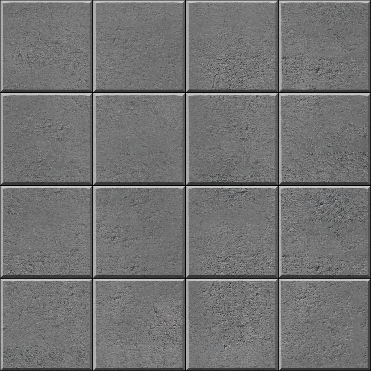 Stack Bond square paver